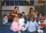 Daniel in Argentina with children #3